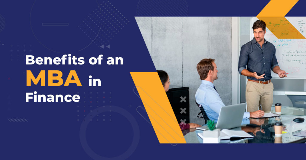 How will an MBA in Finance help advance your career