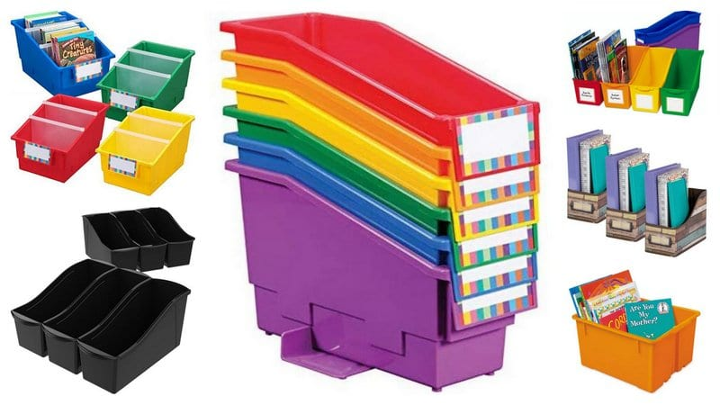 14 Best Book Bins For Classroom Libraries and Student Organization