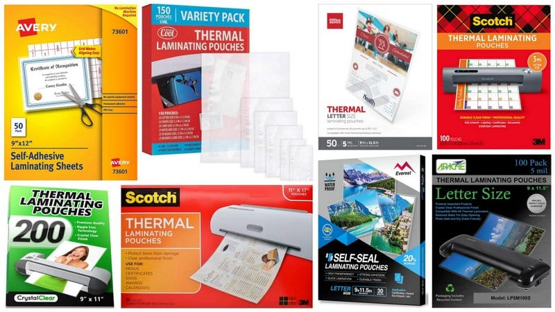 15 Best Laminating Pouches For Teachers Thermal and Self Sealing