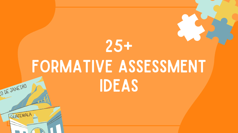 25 Formative Assessment Options Your Students Will Actually Enjoy