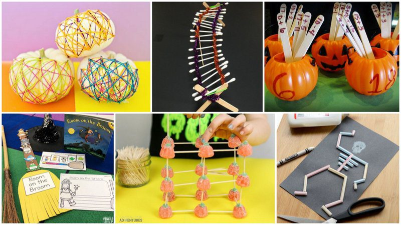 40 Frightfully Fun Halloween Games Crafts and Learning Activities For