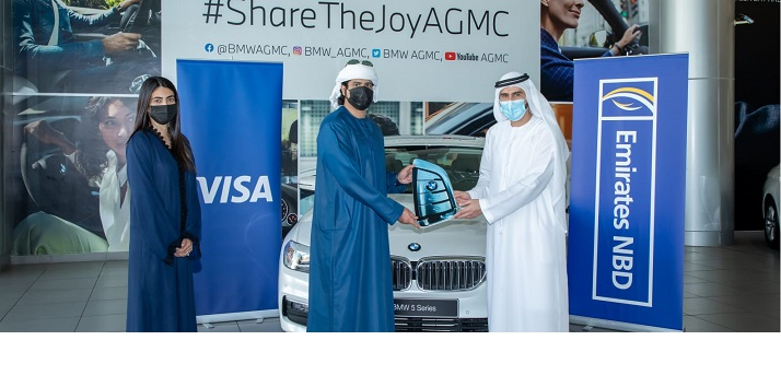 Emirates NBDs 'Get Together Go Contactless campaign records more than