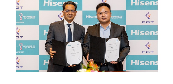 HISENSE MIDDLE EAST PARTNERS WITH FGT FZE…