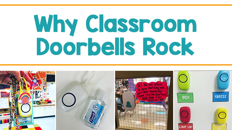 How to Use a Wireless Doorbell to Get Your Students