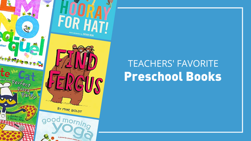 50 Preschool Books To Add to Your Collection