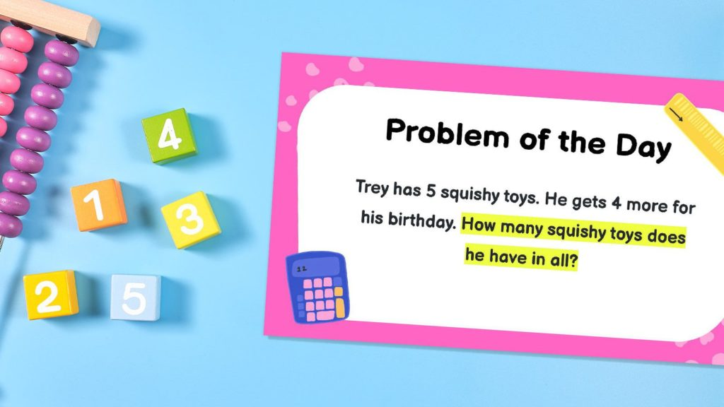 Check Out These 50 Second Grade Math Word Problems of the