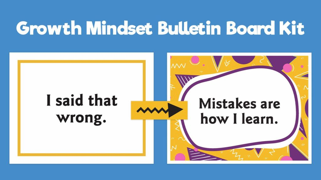 Get This Free Change Your Words Change Your Mindset Bulletin