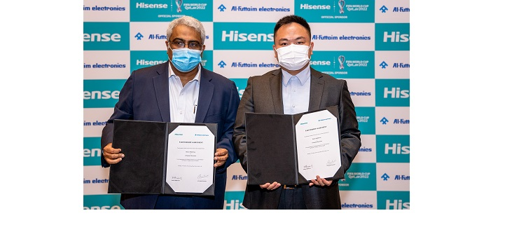 Hisense Middle East partners with Al Futtaim Electronics to strengthen its