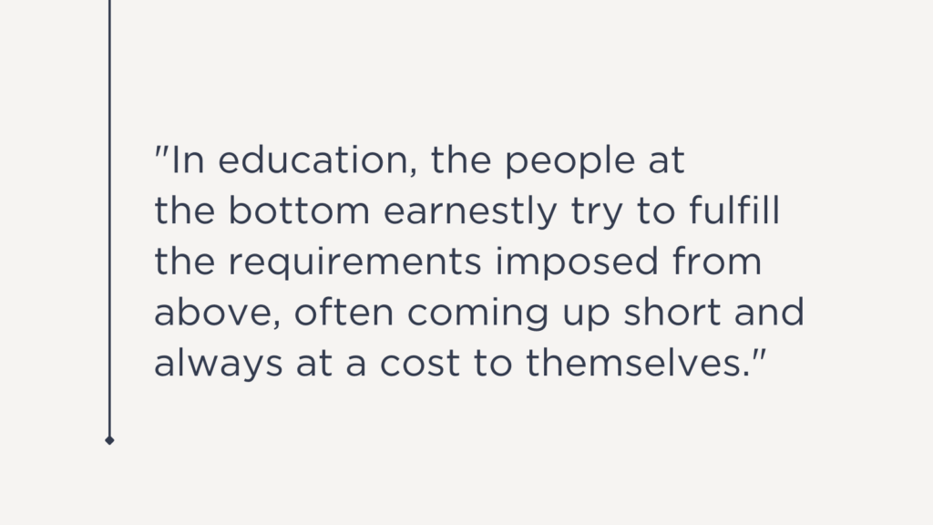 Its Time to Rewrite the Expectations in Education