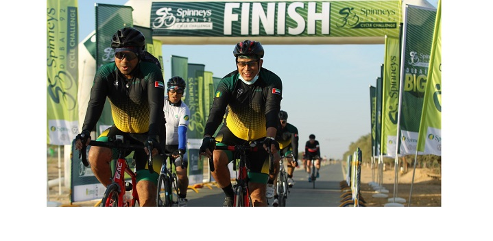 REGISTRATION NOW OPEN FOR SPINNEYS DUBAI 92 CYCLE CHALLENGE