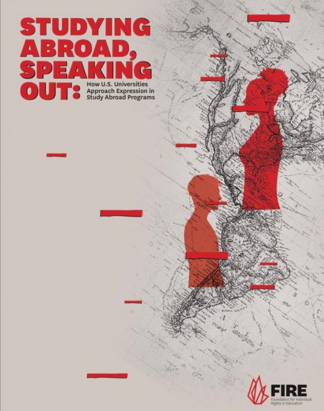 Report focuses on speech codes for students studying abroad