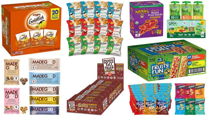 The Best Shelf Stable Nut Free Snacks For Your Classroom Snack Stash
