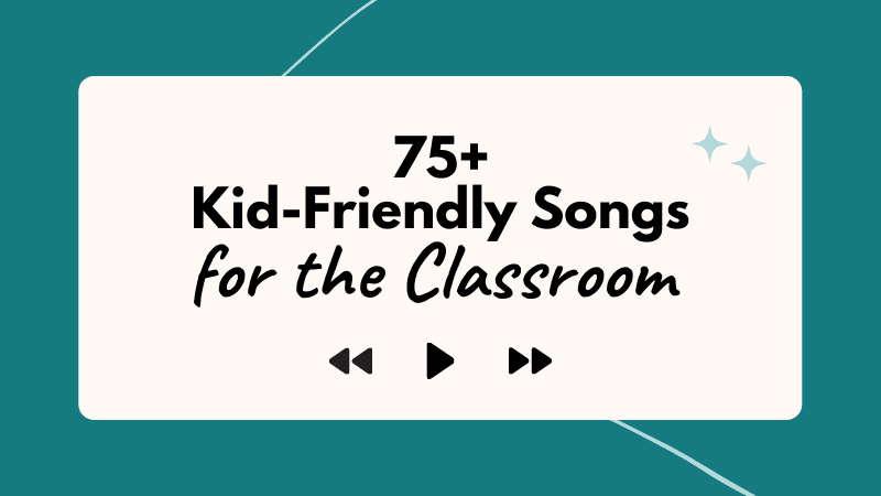 The Big List of School Appropriate Songs To Keep Everyone Pumped