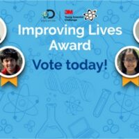 Vote for the 3M Young Scientist Challenge Improving Lives Award